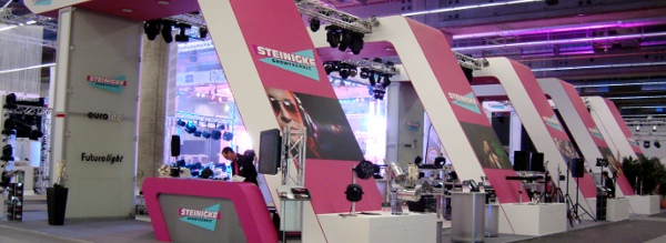 Steinigke Messestand