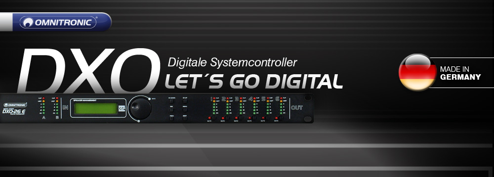 Omnitronic DXO Digitale Systemcontroller