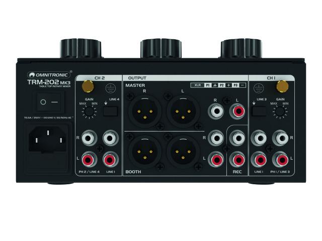 Auch technisch hat sich der Mixer leicht verändert, der Signallauf wurde optimiert.